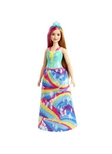 Barbie Dreamtopia Prenses Bebekler GJK12-GJK16 Renkli
